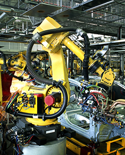 Priemyselná automatizácia / Robotika - Referencie